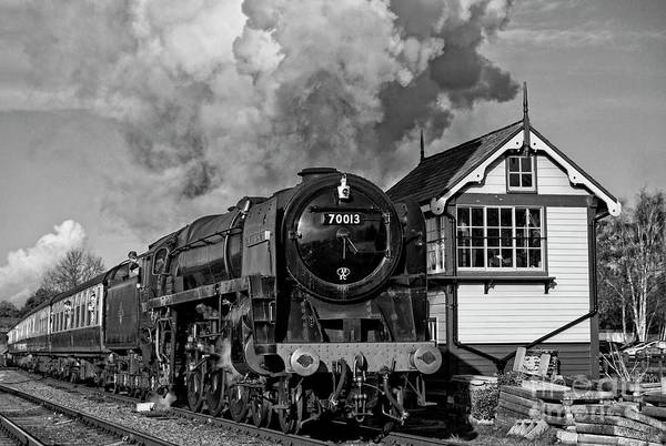 Photograph - 70013 Oliver Cromwell At Quorn by David Birchall