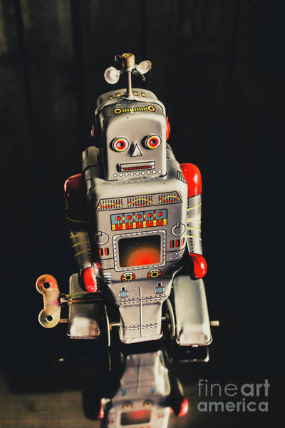 Sci-fi Photograph - 70s Mechanical Android Bot  by Jorgo Photography - Wall Art Gallery