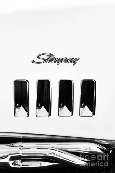 1972 Photograph - 72 Stingray Monochrome  by Tim Gainey