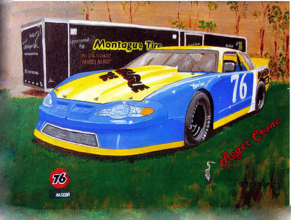 Painting - 76 Roger Crane by Richard Le Page