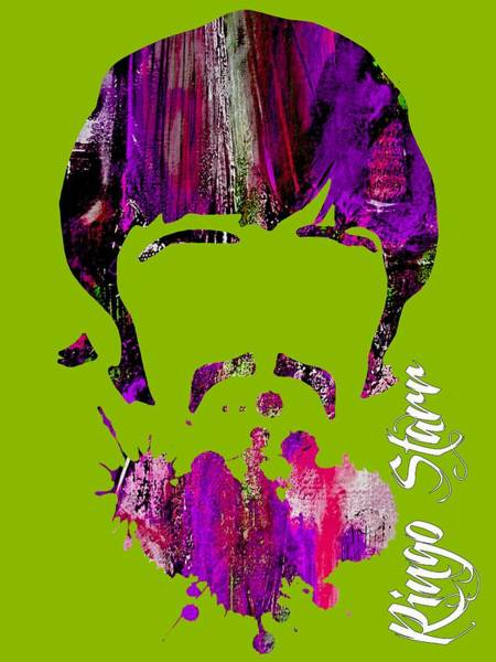 Ringo Star Mixed Media - Ringo Starr Collection by Marvin Blaine