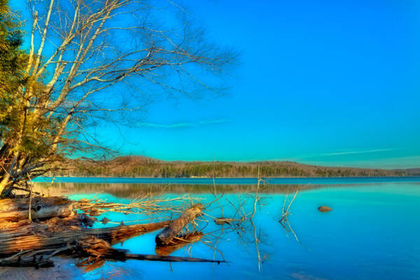 Chain Of Lakes Photograph - 7th Lake From The Mountain Spirit Shoreline by David Patterson