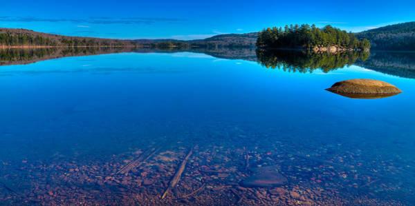Chain Of Lakes Photograph - 7th Lake Panorama by David Patterson