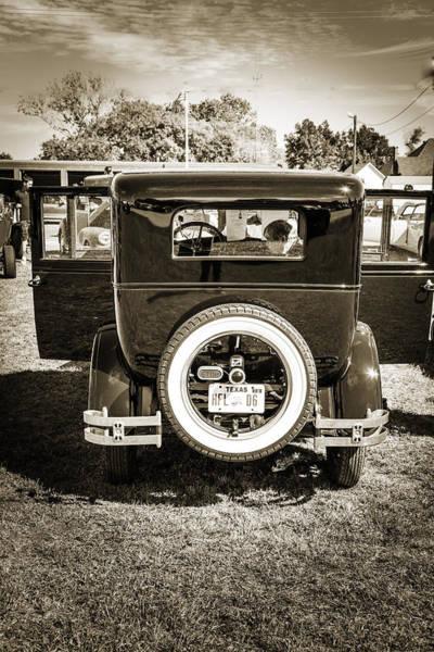 Photograph - 1924 Buick Duchess Antique Vintage Photograph Fine Art Prints 118 by M K Miller