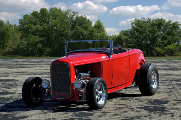 Photograph - 1932 Ford Roadster Hot Rod by Tim McCullough