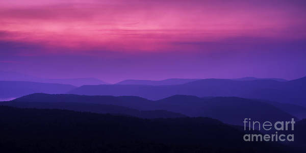 Highland Scenic Highway Wall Art - Photograph - Allegheny Mountain Dawn #2 by Thomas R Fletcher