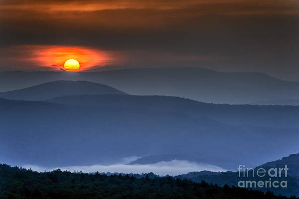 Highland Scenic Highway Wall Art - Photograph - Allegheny Mountain Sunrise #7 by Thomas R Fletcher