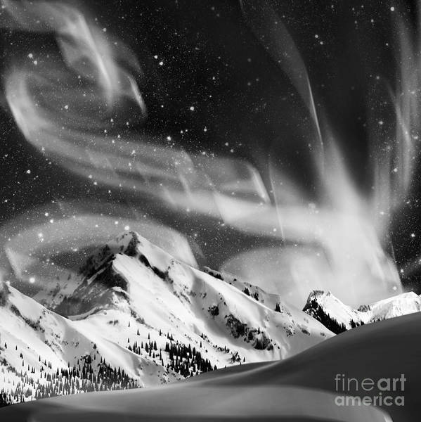 Aesthetic Photograph - Aurora Borealis by Setsiri Silapasuwanchai