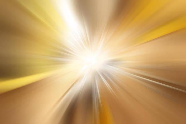 Detonation Digital Art - Bright Background  by Les Cunliffe