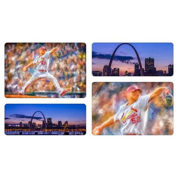 Baseball Wall Art - Photograph - #buschstadium #cardinalnation #baseball by David Haskett II