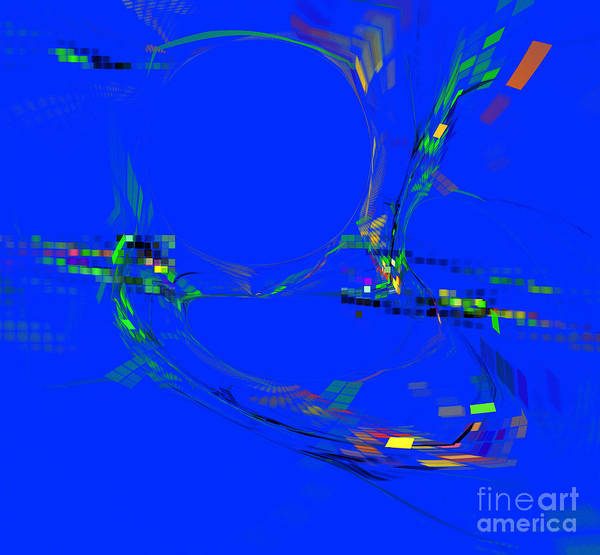 Digital Art - Colorful Abstract Background by Odon Czintos