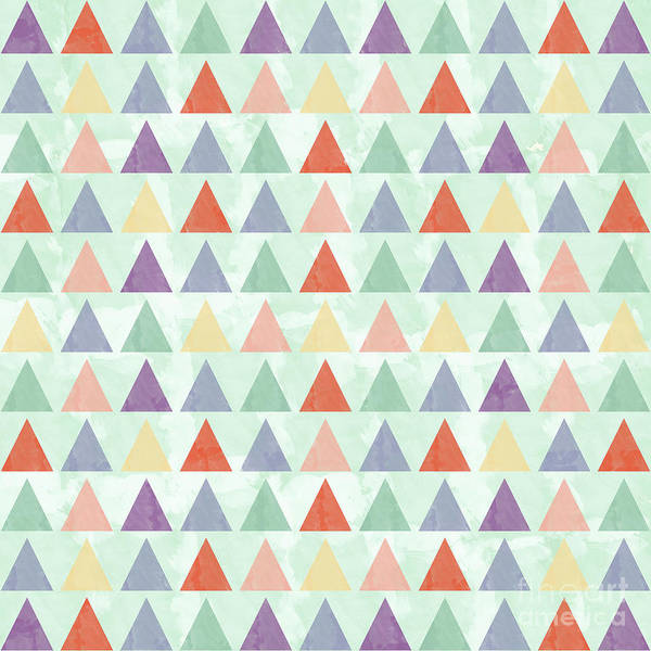 Wall Art - Photograph - Colorful Geometric Background by Amir Faysal