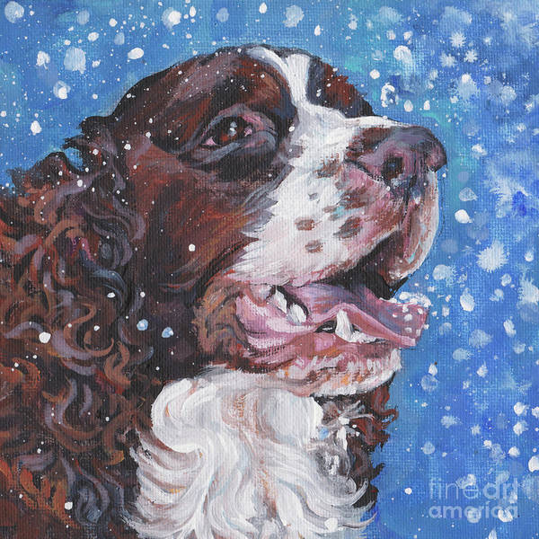 Wall Art - Painting - English Springer Spaniel by Lee Ann Shepard