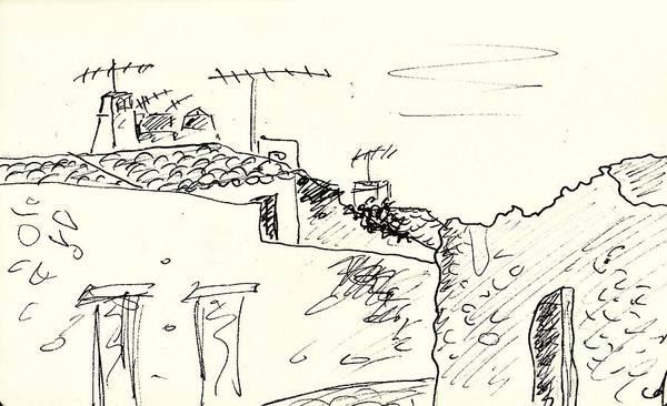 Drawing - Estremoz by Chani Demuijlder