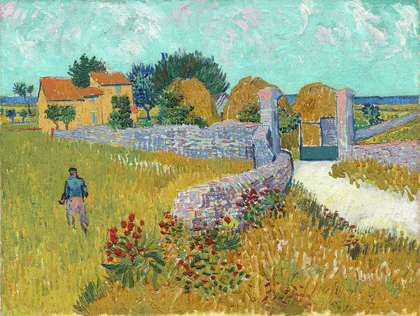 Painting - Farmhouse In Provence by Vincent Van Gogh