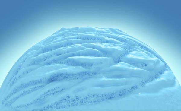 Frozen Food Digital Art - Ice Cream Scoop by Allan Swart