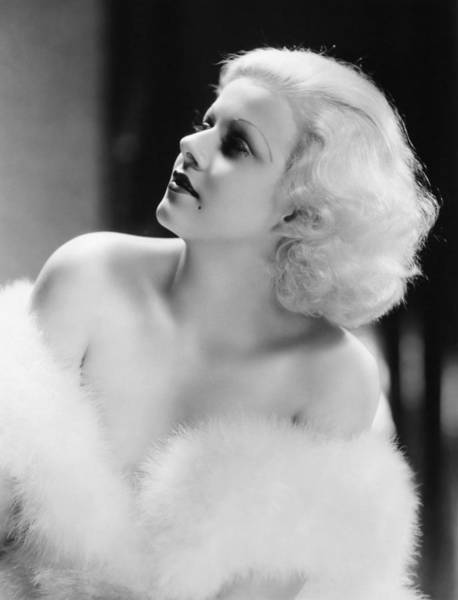 Photograph - Jean Harlow (1911-1937) by Granger