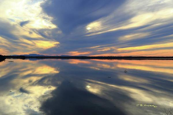 Photograph - Missisquoi Sunset by R B Harper