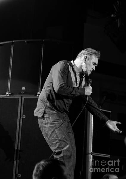 Photograph - Morrissey by Jenny Potter