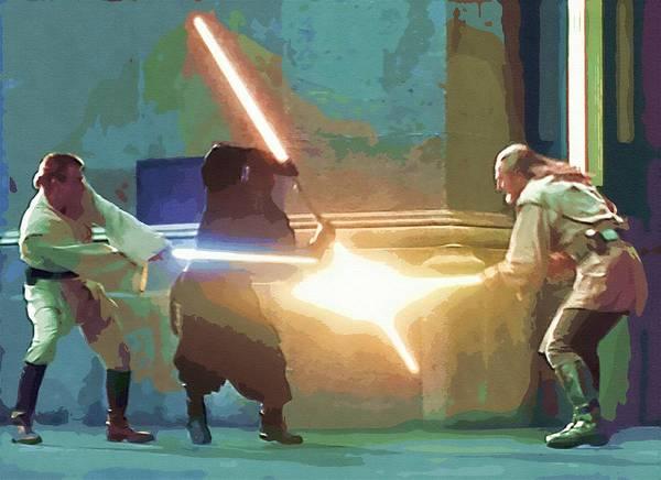 R2-d2 Digital Art - Movies Star Wars Art by Larry Jones