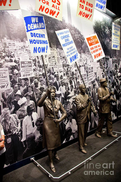 African American Museum Photograph - National Civil Rights Museum Memphis Tennessee by ELITE IMAGE photography By Chad McDermott