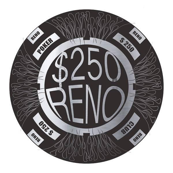 Nv Digital Art - Poker Chip by Francois Domain