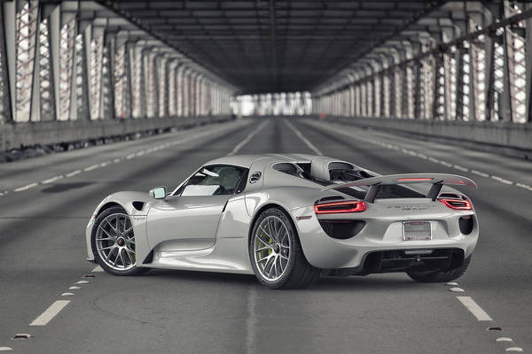 Wall Art - Photograph - Porsche 918 Spyder  by ItzKirb Photography