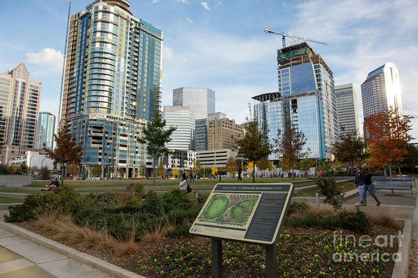 Photograph - Romare Bearden Park by Kevin McCarthy