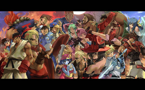 Wall Art - Digital Art - Street Fighter by Mery Moon