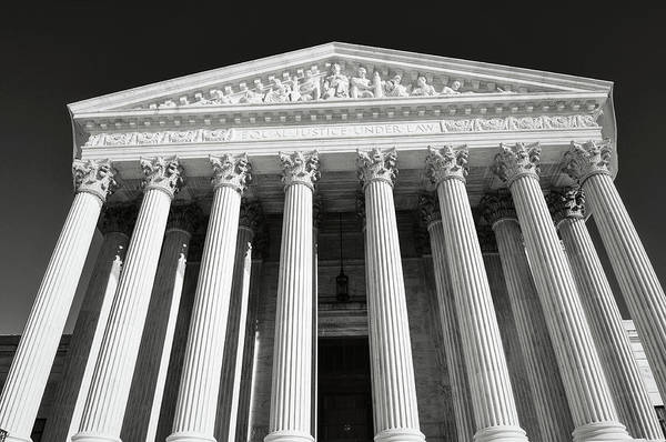 Photograph - Supreme Court Of United States by Brandon Bourdages
