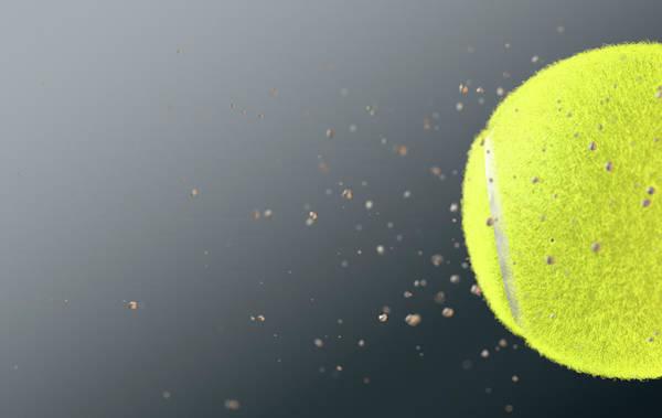 Wake Up Digital Art - Tennis Ball by Allan Swart