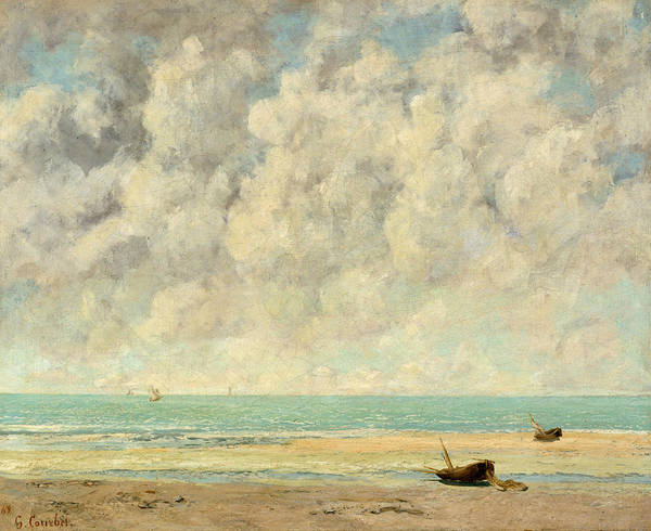 Painting - The Calm Sea by Gustave Courbet