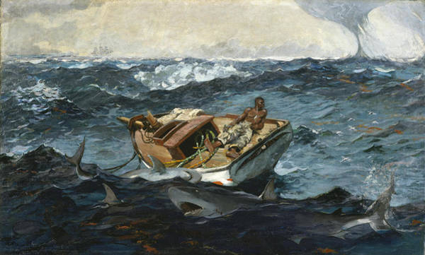 Painting - The Gulf Stream by Winslow Homer