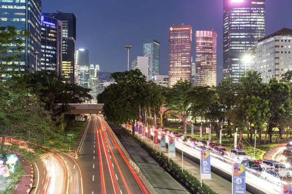 Photograph - The Nights Of Jakarta by Didier Marti