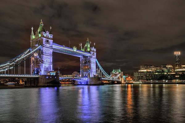 Bridge Bank Photograph - Tower Bridge - London by Joana Kruse