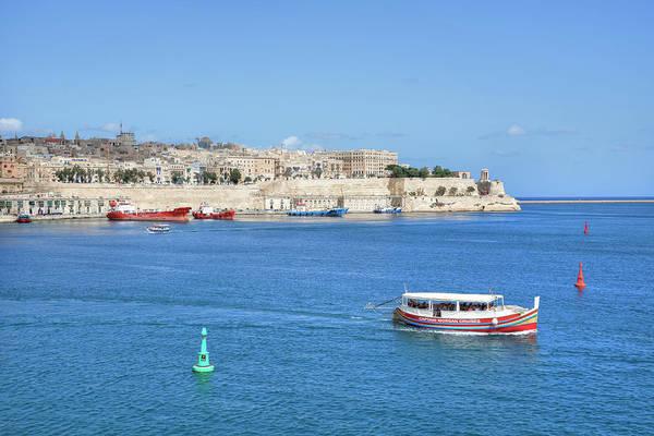 Port City Photograph - Valletta - Malta by Joana Kruse