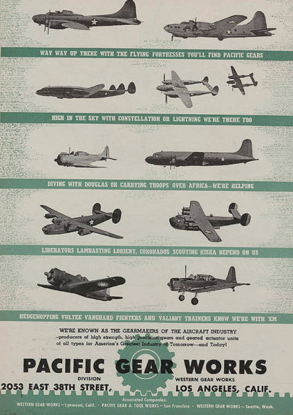 The Father Wall Art - Painting - World War II Advertisement by American School