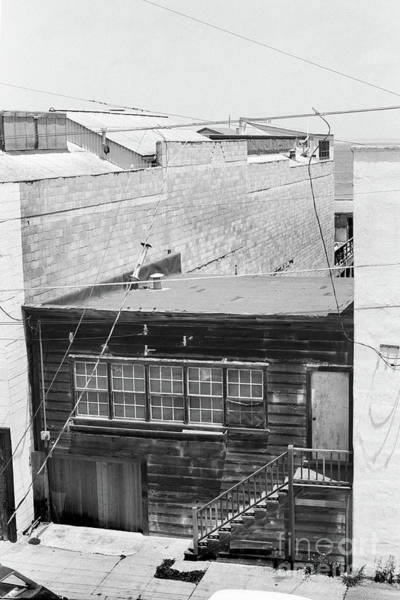 Photograph - 800 Cannery Row Pacific Biological Laboratories Of Ed Ricketts 1973 by California Views Archives Mr Pat Hathaway Archives