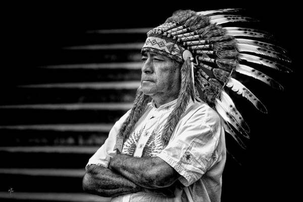 Photograph - 8466-indian by Carlos Mac
