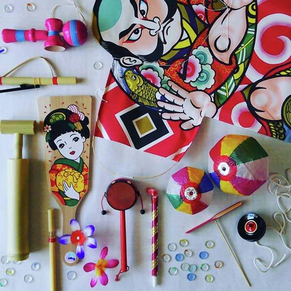 Toy Gun Photograph - Japanese Traditional Toys by Masato