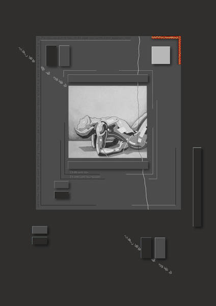 Drawing - 87 - 6 by David Hargreaves