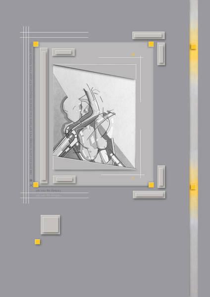 Drawing - 87 - 9 by David Hargreaves