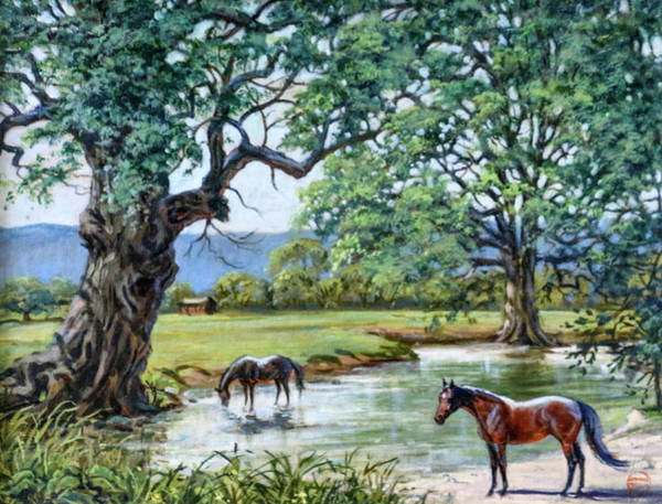 Jeanne Wall Art - Painting - #89 - Monnington by Jeanne Mellin Herrick
