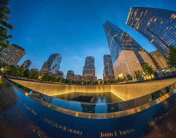 Photograph - 9/11 Memorial by Bryan Xavier