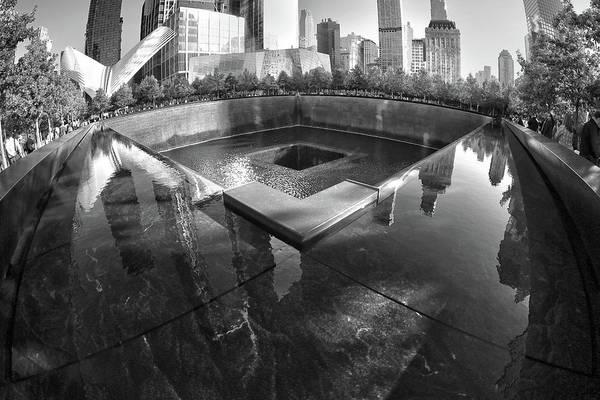 Wall Art - Photograph - 9/11 Memorial by Mitch Cat