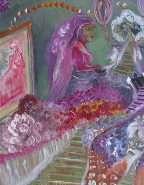 A Step Into The Mirror Art Print by Michael Braun