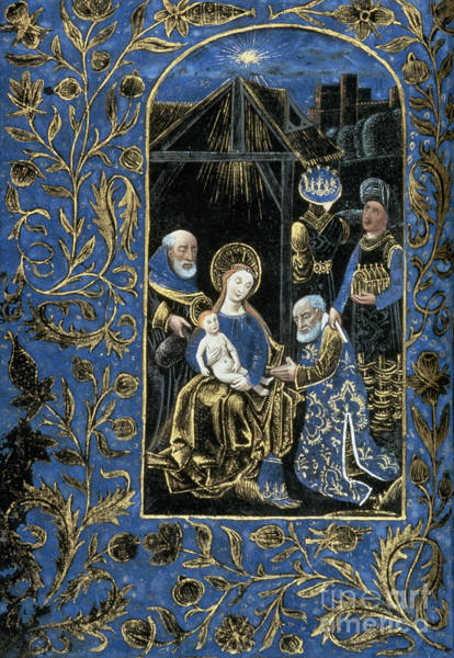 Photograph - Adoration Of Magi by Granger