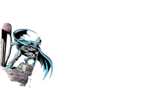 Wall Art - Digital Art - Batman by Mery Moon