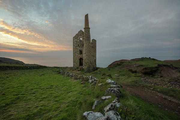 Mine Photograph - Botallack Mines - Cornwall by Joana Kruse