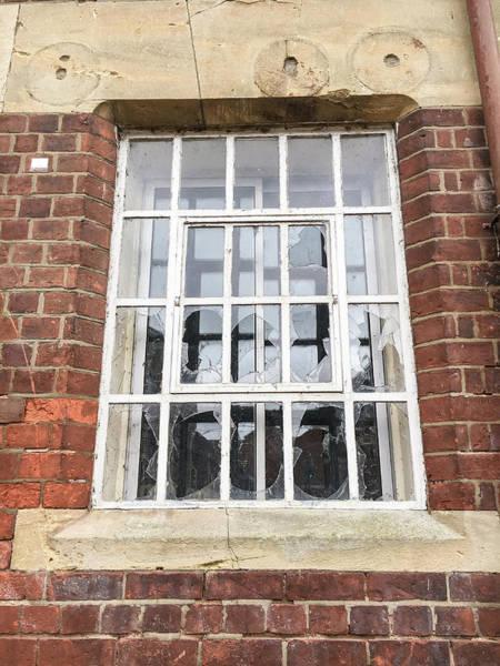 Wall Art - Photograph - Broken Window by Tom Gowanlock
